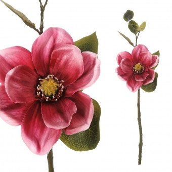 Magnolia artificial cereza 46 · Flores artificiales · La Llimona home