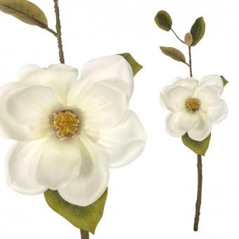 Magnolia artificial crema 46 · Flores artificiales · La Llimona home