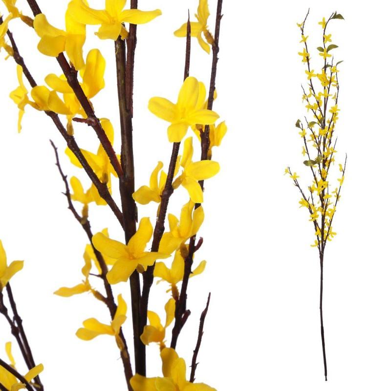 Rama forsthyia artificial amarilla · Flores artificiales · La Llimona home
