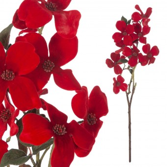 Rama dogwood artificial roja · Flores artificiales · La Llimona home