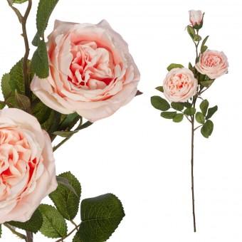 Rosa provenza artificial rosada 73 · Flores artificiales · Rosas artificiales · La Llimona home