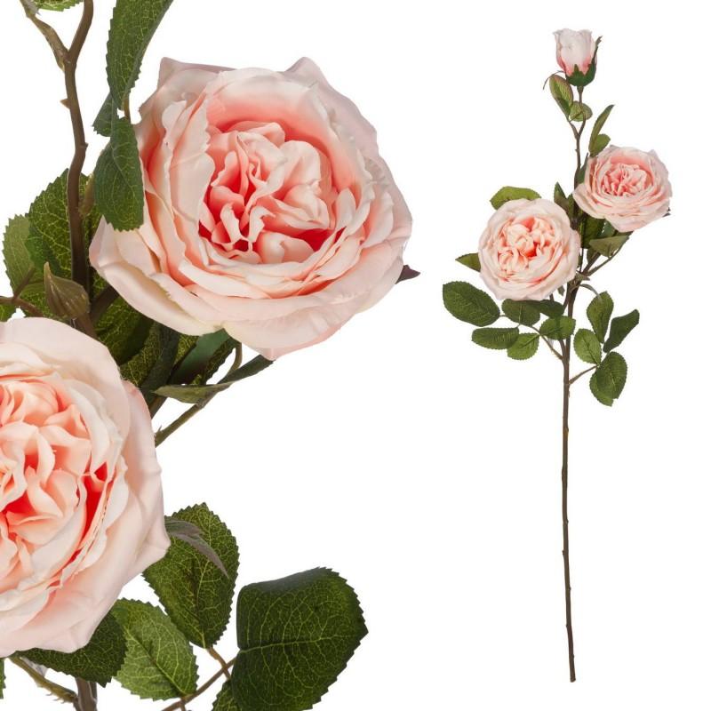 Rosa provenza artificial rosada 73 - Flores artificiales - Rosas artificiales