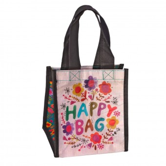 Natural Life bolsa compras mini 'Happy bag' flores reutilizable · Natural life · La Llimona home