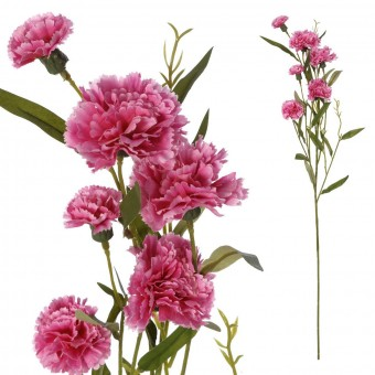 Rama clavel artificial malva 70 · Flores artificiales · La Llimona home