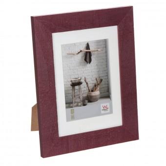 Portafotos milo madera 10x15 burdeos · Marcos portafotos 2