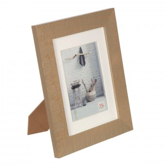 Portafotos milo madera 13x18 taupe - Marcos portafotos 2