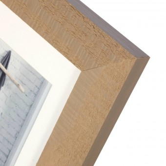Portafotos milo madera 40x50 taupe - Marcos portafotos 2
