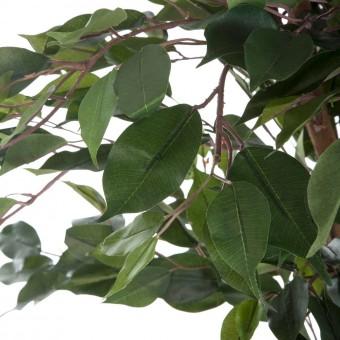 Planta ficus artificial benjamina 150 con maceta · Plantas artificiales 3