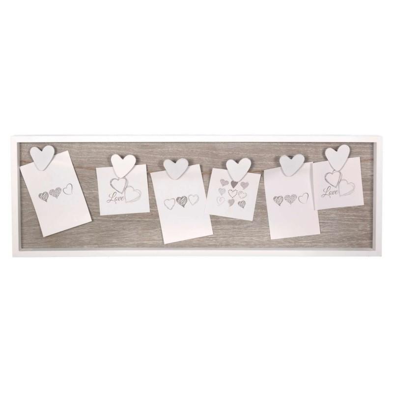 Portafotos multiple carola madera 6 fotos · Portafotos · Portafotos multi ventanas · La Llimona home