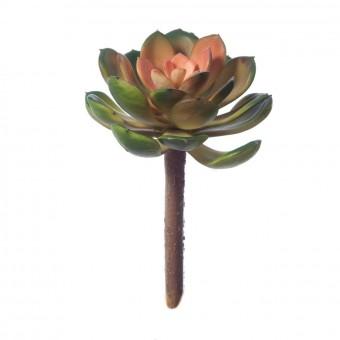 Echeveria crasa artificial bicolor 17 - Plantas artificiales - Crasas y cactus artificiales 3