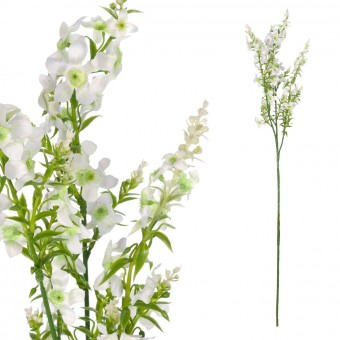 Rama mini flores artificiales blancas 70 · Flores artificiales · La Llimona home