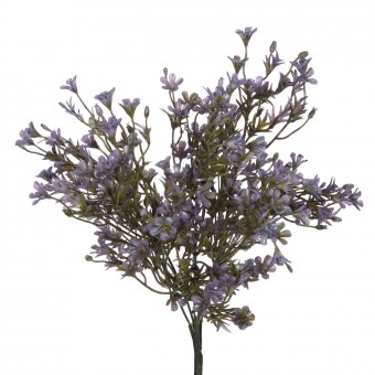 Bush mini flores artificiales violetas 35 · Flores artificiales · La Llimona home