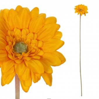 Gerbera mini artificial amarilla 47 · Flores artificiales · La Llimona home