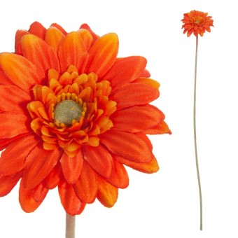 Gerbera mini artificial naranja 47 · Flores artificiales · La Llimona home