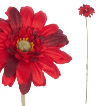 Gerbera mini artificial roja 47 · Flores artificiales · La Llimona home