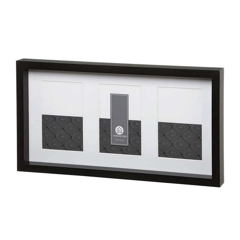 Portafotos multiple arles pared negro 3 fotos · Portafotos · Portafotos multi ventanas · La Llimona home
