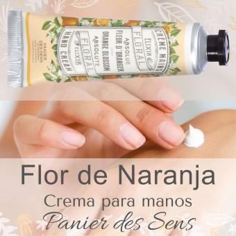 Crema manos natural Flor de Naranja Panier des  Sens · Cosmética natural · La Llimona home