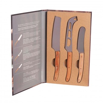 Set 3 cuchillos queso · Cocina, mesa y porta alimentos