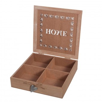 Caja multiusos 4 departamentos - Decoración y complementos - Hogar 2