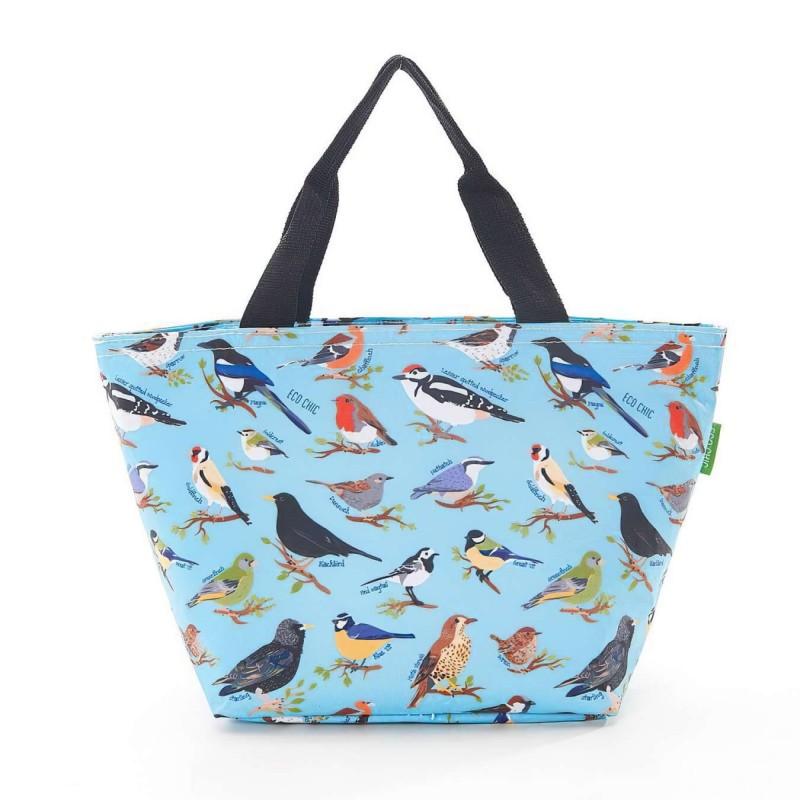 Bolsa isotérmica pájaros azul · Cocina, mesa y porta alimentos