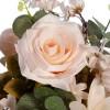 Ramo rosas y hortensias artificiales crema 46 - Ramos flores artificiales 2