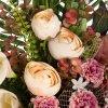 Jardinera rosas artificiales peonías y pom pom 50 - Funerario - Jardineras, arreglos y centros artificiales 5