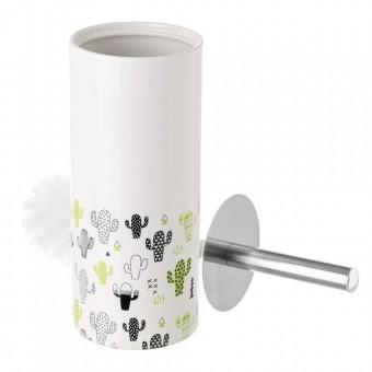 Escobillero baño cerámica cactus · Accesorios baño · La llimona home