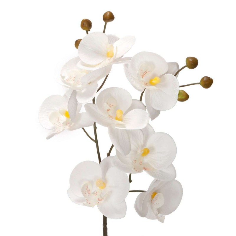 Orquídea artificial blanca 53 - Orquídeas artificiales