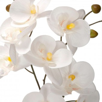 Orquídea artificial blanca 53 - Orquídeas artificiales 2