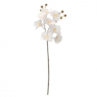 Orquídea artificial blanca 53 - Orquídeas artificiales 4