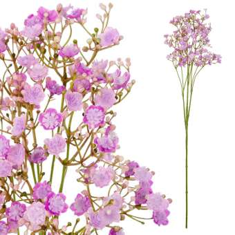Gypsophila artificial lila 70 · Flores artificiales - La Llimona home