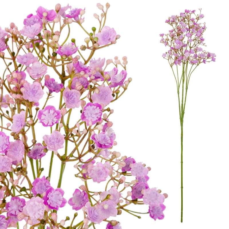 Gypsophila artificial lila 70 · Flores artificiales - La Llimona home