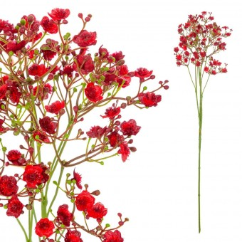 Gypsophila artificial roja 70 · Flores artificiales - La Llimona home