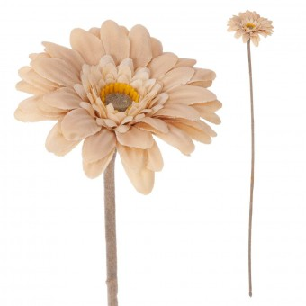 Gerbera mini artificial beige 47 · Flores artificiales · La Llimona home