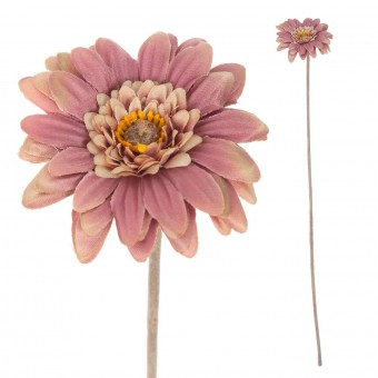 Gerbera mini artificial malva 47 · Flores artificiales · La Llimona home
