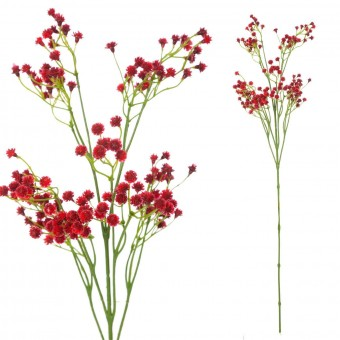 Gypsophila artificial roja 67 · Flores artificiales · La Llimona home