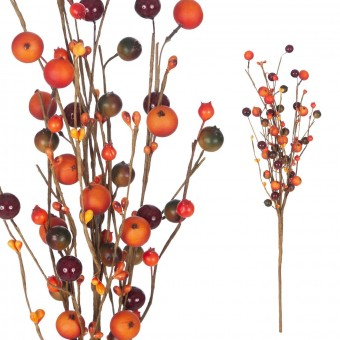 Rama berries artificiales caldera 55 · Hojas y ramas artificiales · La Llimona home