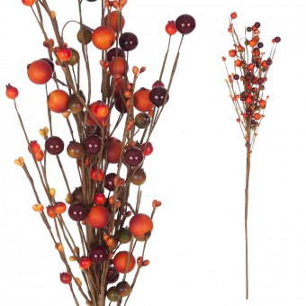Rama berries artificiales caldera 80 · Hojas y ramas artificiales · La Llimona home