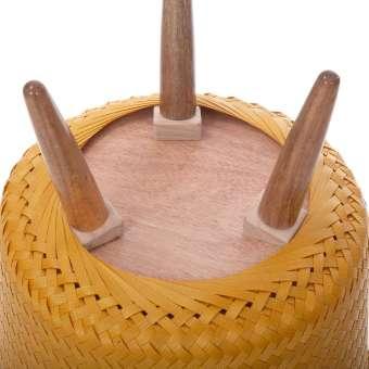 Macetero cesta 3 pies Up Mid amarillo · Macetas y jardín · La Llimona home