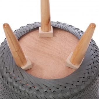 Macetero cesta 3 pies Up Mid gris · Macetas y jardín · La Llimona home