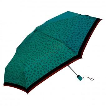 Paraguas Bisetti animal print plegable verde · Paraguas mujer · La Llimona home