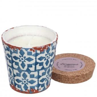 Vela Wax design perfumada Bergamota maceta 10 · Velas ecológicas naturales · La Llimona home