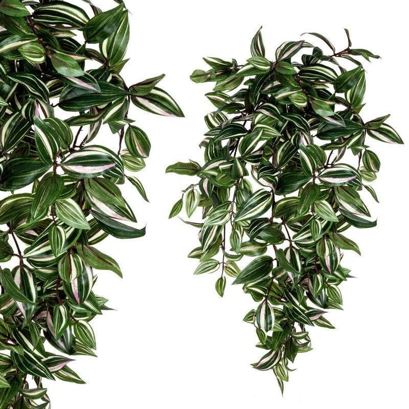 Planta artificial colgante tradescantia verde 65 · Plantas colgantes artificiales · La Llimona home
