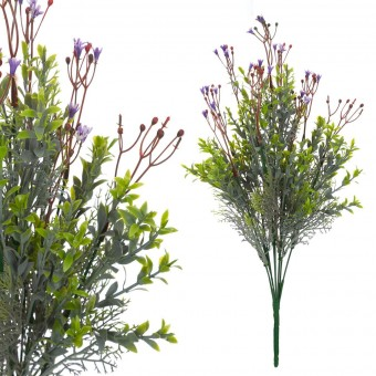 Campanilla mini artificial lila 40 · Flores artificiales · La Llimona home