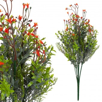 Campanilla mini artificial naranja 40 · Flores artificiales · La Llimona home