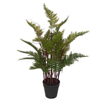 Plantas artificiales · Helecho artificial verde 70 maceta · La Llimona home