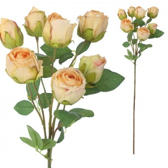 Rosas artificial beige 68 · Flores artificiales · La Llimona home