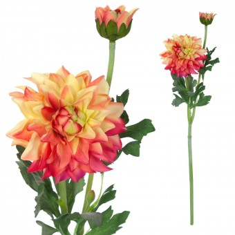 Dalia artificial bicolor 56 · Flores artificiales · La Llimona home