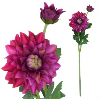 Dalia artificial malva 56 · Flores artificiales · La Llimona home