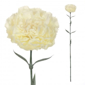 Clavel artificial blanco 67 · Flores artificiales · La Llimona home